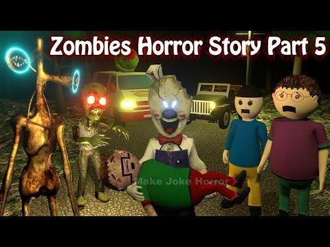 Zombies Horror Story Part 5 | Siren Head | Apk Android Games | Best Animated Movies | 3d Animation
