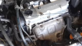 Двигатель Mitsubishi Lancer 9 после ремонта