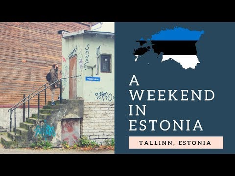 🇪🇪 A WEEKEND IN TALLINN (ESTONIA)