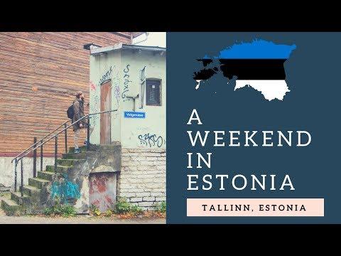 🇪🇪 A WEEKEND IN TALLINN (ESTONIA)
