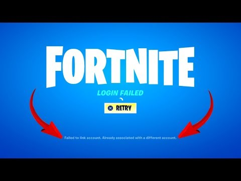 Fortnite Unlink Account To New PSN (Chapter 2)