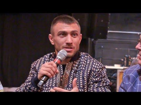 Vasyl Lomachenko POST FIGHT PRESS CONFERENCE | vs Guillermo Rigondeaux