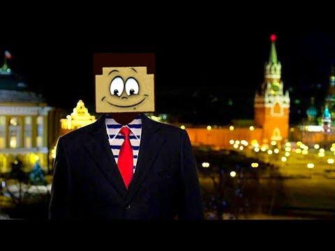 НУБОпрезидент поздравляет всех с Новым 2020 годом ! Как сделать московский кремль Нубу из Майнкрафт!