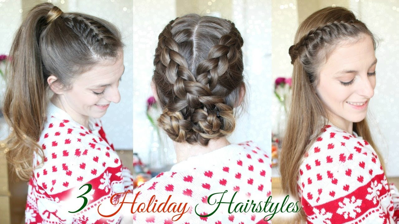 Cute Hair Styles With Braids: 3 Cute Braid Hairstyles For The Holidays