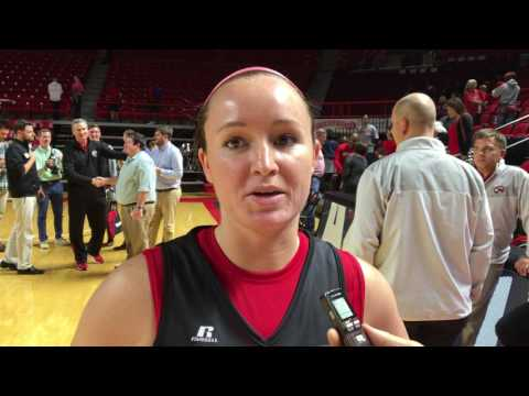 WKU WBB Press Conference - Micah Jones - 10/14/16