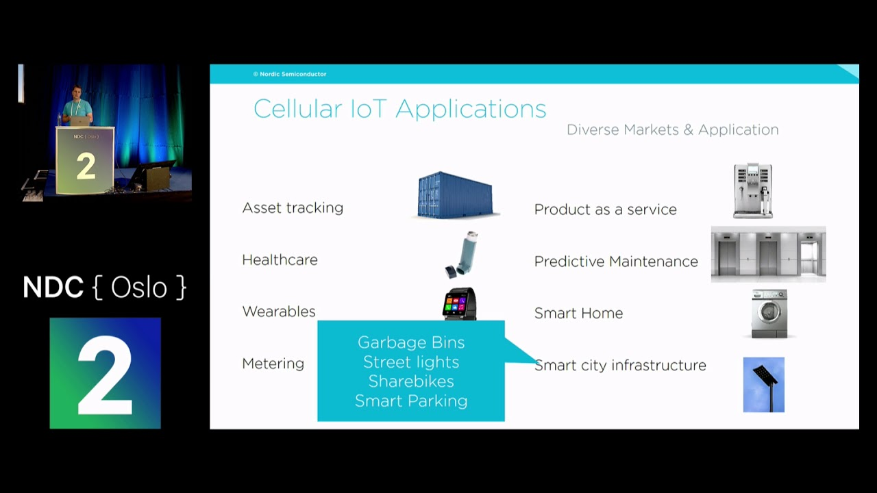 Low power cellular for the IoT - Peder Rand presentation at NDC Oslo