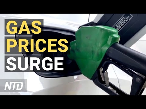 Gas Prices At 7-Yr High; 943K Jobs Added in July; Huawei Chairman: Aim Is To Survive | NTD Business