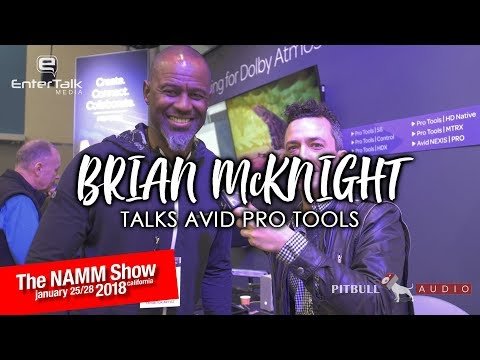 NAMM 2018: Brian McKnight Interview