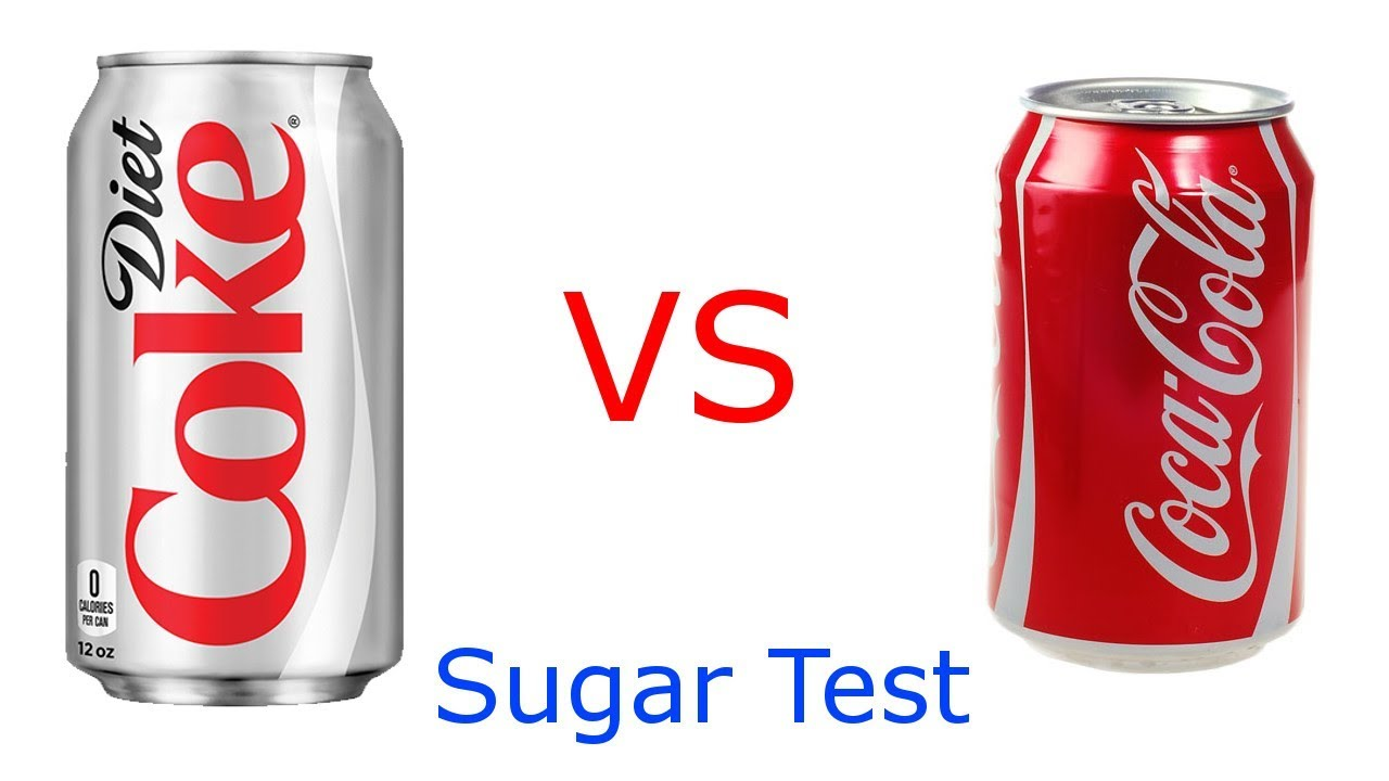 sugar content of diet coke