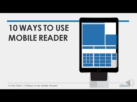 To the Point | 10 Ways to Use Mobile Reader | The CBORD Group
