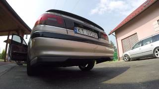 Mazda 626 GD USDM F2T 2.2T new exhaust sound – cold start