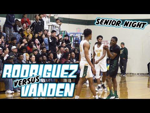 Vanden's Senior Night