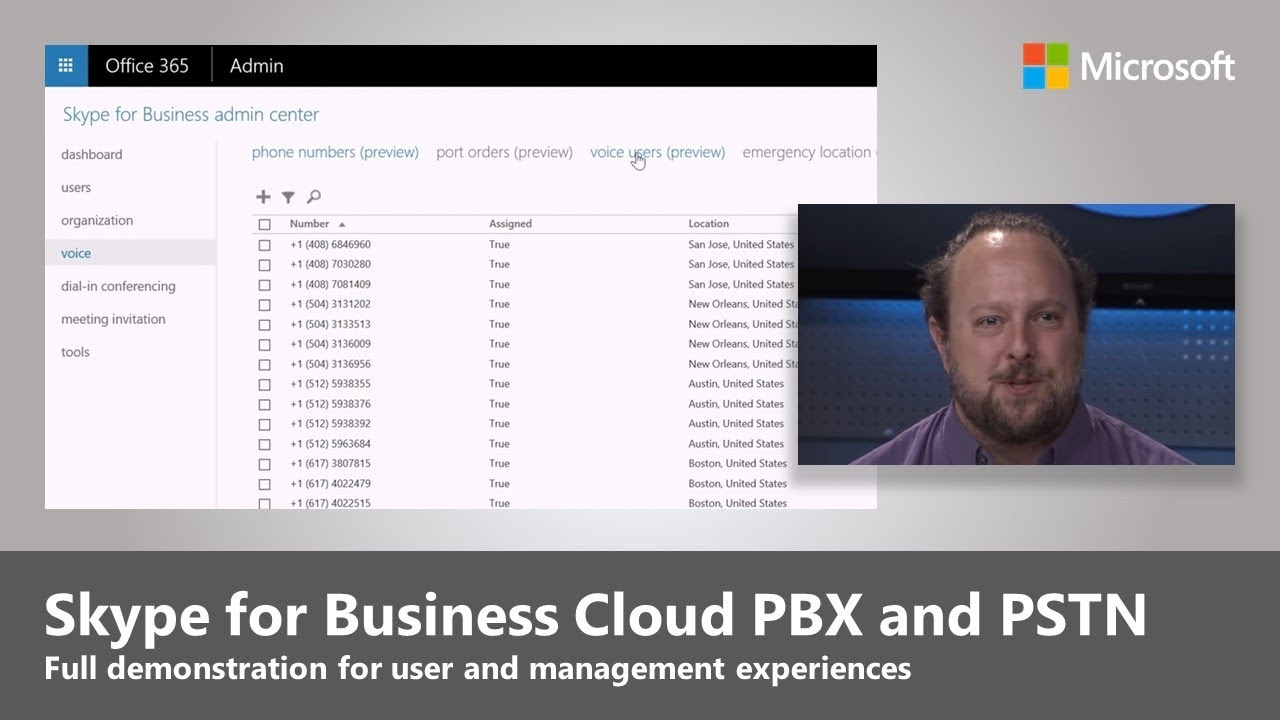 Cloud PBX and PSTN meetings in Skype for Business