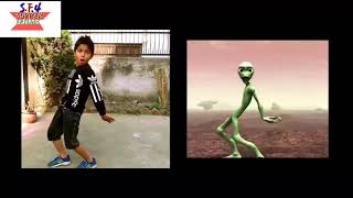 Nepalese kids vs alien dance challenge 2018 crazy froy Asquare crew Abhay