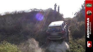 Ford Endeavour 3.2, Toyota Fortuner: Preparing a obstacle for others! 25 11 16
