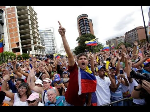 Venezuelan Opposition Marches Against Maduro, Demanding New Elections, Release of Jailed Lawmakers