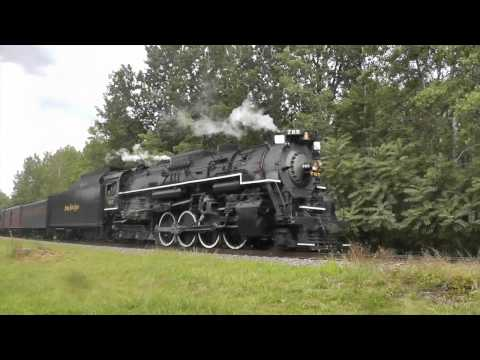 Chasing Nickel Plate Road #765 Through Pennsylvania: 21st Century Steam