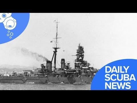 Daily Scuba News - Battleship Hiei Has Been Found Off Guadalcanal