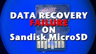 How NOT to recover data from Sandisk MicroSD card