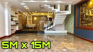 Bán nhà Tân Bình ( 46 )5m x 15m Nhà mặt tiền 3.5 lầu thiết kế đẹp sang trọng  Nhà Đất Huy Hùng