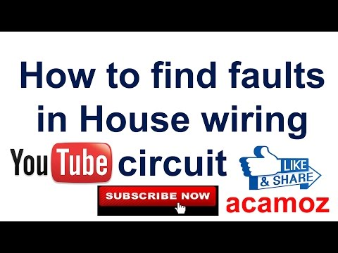 Learning to find short circuit fault [ Hindi ] | How to find faults in House wiring circuit