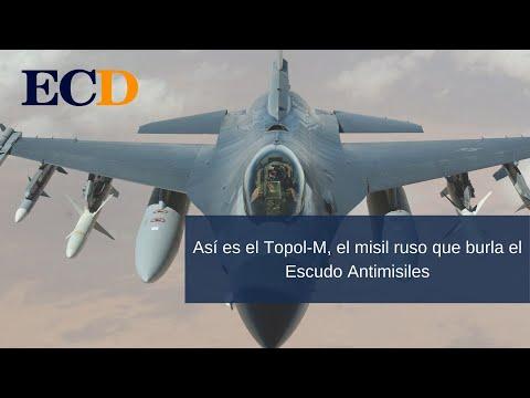 Así es el Topol-M, el misil ruso que burla el Escudo Antimisiles