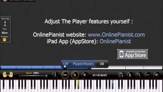 Danny Elfman - Corpse Bride Main Theme - Piano Tutorial (Easy)