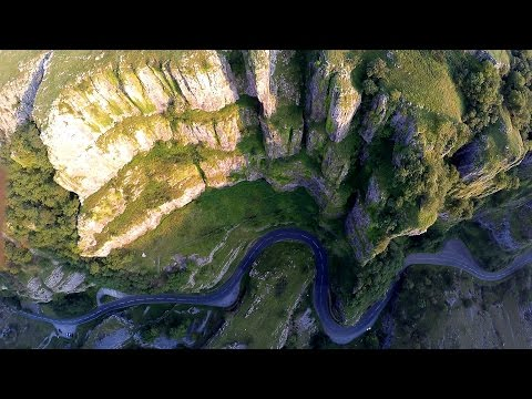 [An Eagle's Eye View of Cheddar Gorge]