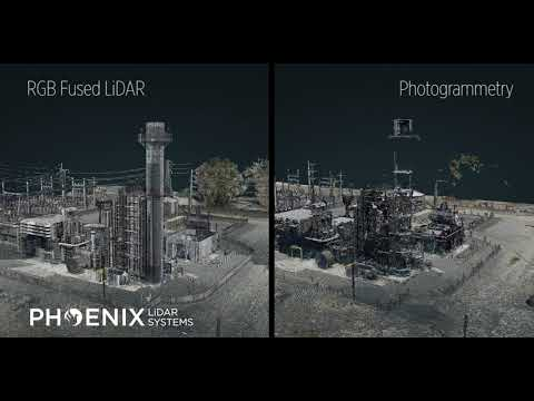 Photogrammetry vs RGB-Fused-LiDAR on a Phoenix System