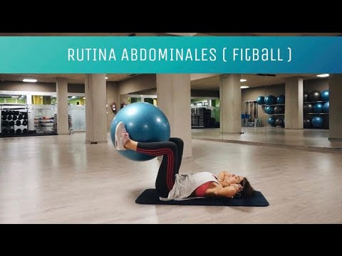 Workout Abdominales con Pelota de Fitball - YouTube 74cce3b11879