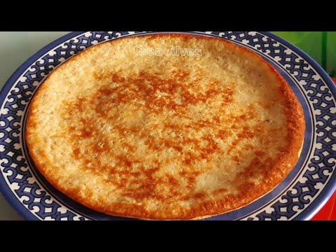 Receita saudável e barata, com 3 ingredientes faça essa delícia para substituir o pão