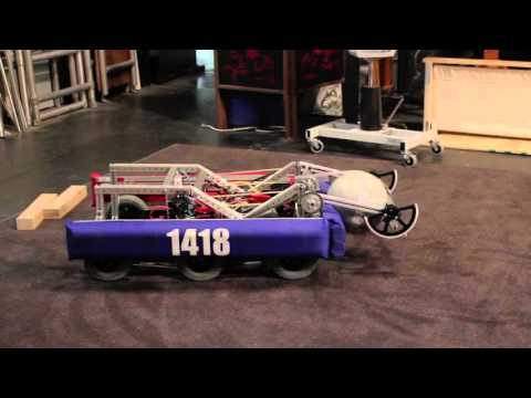 FRC 2016 :: Team 1418 :: Weasel-Bot Preview #2 (The Winch)