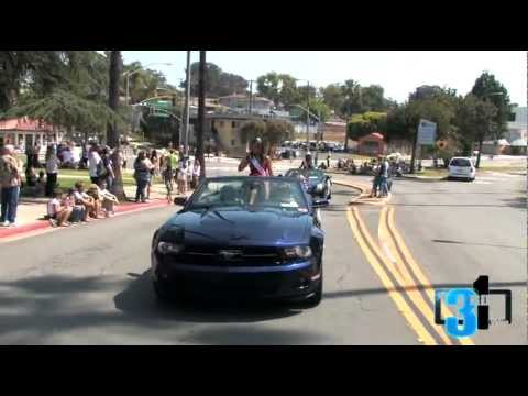 La Mesa Flag Parade with Tify Knight and Yvonne Engleman