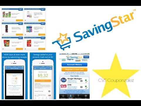 SavingStar Ecoupons/Cashback Rebate App