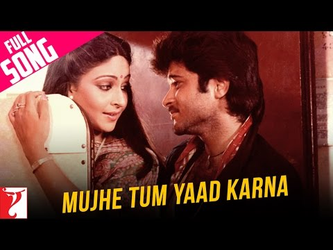 Mujhe Tum Yaad Karna - Full Song | Mashaal | Anil Kapoor | Rati Agnihotri