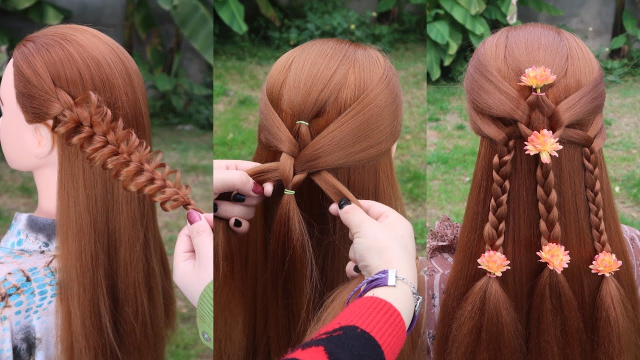 Braided Hairstyle 😱 15 Easy Braid Hairstyle Tutorial 👌 Hairstyles for Girls