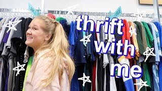 come thrift with me + haul !
