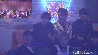 Download Video [FANCAM] 161231 EXO & SHINEE reaction to GFriend - ''So Hot'' @ MBC 2016 MP3 3GP MP4