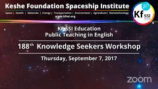 Video 188th Knowledge Seekers Workshop Sept 7, 2017 download MP3, 3GP, MP4, WEBM, AVI, FLV Desember 2017