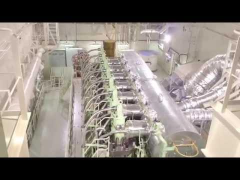 Maersk EEE class engine room overview