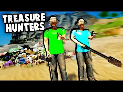 GETTING RICH! Hidden Treasure & GOLD!  Awesome Metal Detecting Multiplayer Gold Rush! Best Finds
