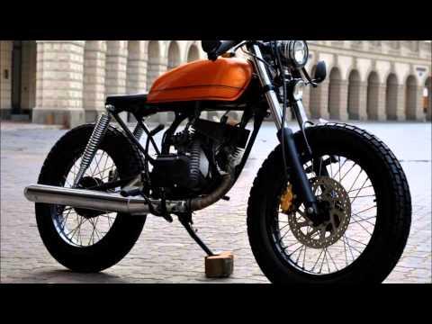Yamaha Rx 135 Cafe Racer