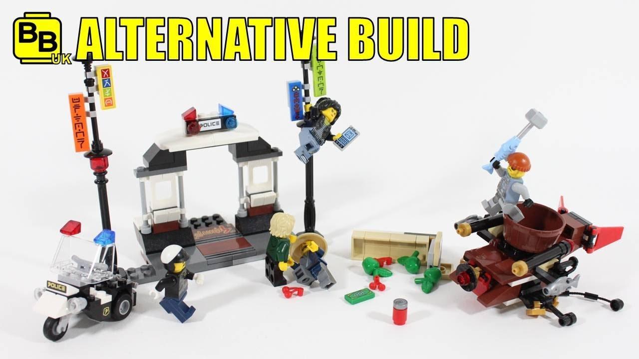 Lego City Police Station Alternate Build