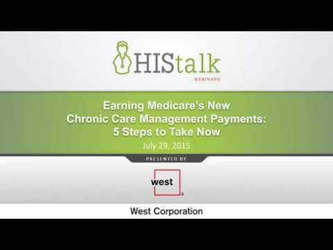 Earning Medicare's New Chronic Care Management Payments: Five Steps to Take Now