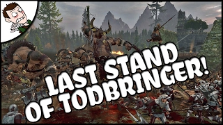THE EMPIRE TRIES TO SURVIVE A BEASTMEN ONSLAUGHT! Total War WARHAMMER Mod Gameplay