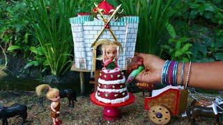 Miniature Princess Strawberry Cake | Strawberry Cake | Miniature Cooking #33 | Mini Foodkey