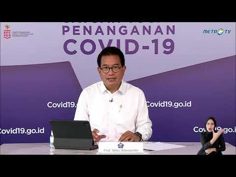 Perkembangan Penanganan Covid-19 di Indonesia per 11 Mei 2021