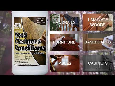 Wood Cleaner and Conditioner
