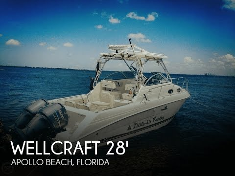 [SOLD] Used 2004 Wellcraft 270 Coastal In Apollo Beach, Florida
