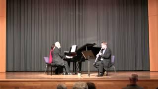 Théodore Gouvy: Sonate für Klarinette und Klavier, Op. 67
